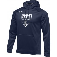 Kent Little League 28: Nike Therma Men's Training Hoodie - Navy Blue